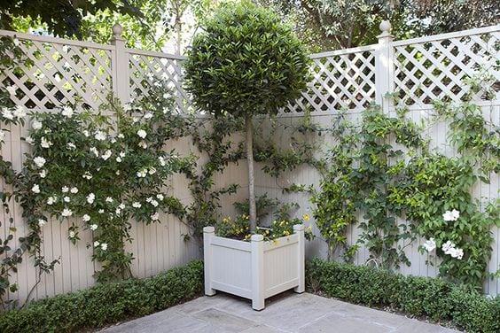 Ideas Para Decorar Las Paredes O Vallas De Tu Jardin O Terraza - Ideas-decoracion-jardin