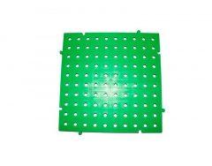 placa pvc de color verde 50x50x2.5 centimetros