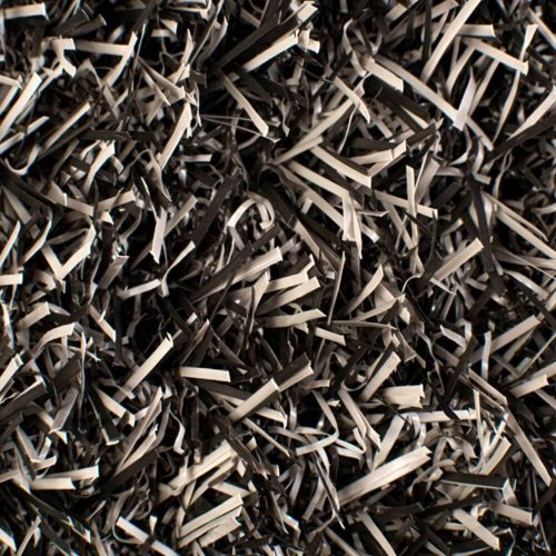 cesped artificial bicolor gris