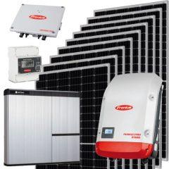 kit solar conexion baterias hibrido